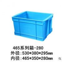 供应全新料塑料耐腐蚀耐低温周转箱 防静电置物箱
