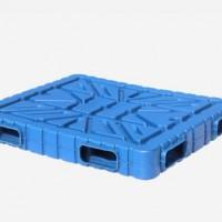 厂家直双层塑料托盘 耐低温耐腐蚀周转箱塑料托盘 寿命长