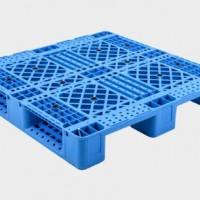 供应网格川字可上货架塑料托盘 仓库周转托盘 塑料地坪架