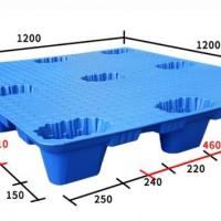 1212九脚吹塑塑料托盘平板九脚宁波塑料托盘塑料栈板