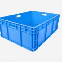 物流箱EU物流中转收纳筐周转箱欧标汽配胶箱加厚宁波物流箱