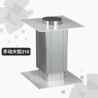 榻榻米升降机手动手摇家用大铝小型经济型升降桌卧室升降台铝合金