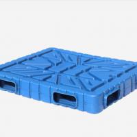 塑料托盘 宁波塑料托盘 吹塑托盘 1513双面吹塑平面托盘