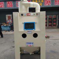 手动普压式干喷砂机(带旋风滤芯除尘)BH-PS1090AB