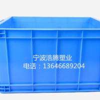 工厂直销超大承重耐磨耐用全新料加厚370箱塑料周转箱宁波箱筐