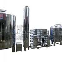 HDNUF-20吨中空纤维超滤矿泉水制造设备.中空超滤设备
