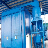 宁波厂家喷砂房 机械回收式喷砂房 喷砂房价格 移动式喷砂房