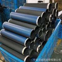 高强度抗拉伸工业加宽橡胶同步带 多型号规格黑色环形橡胶同步带