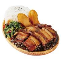 梅菜扣肉饭 扣肉饭
