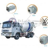 5433-138双向带高压溢流阀的大功率液压马达-搅拌车专用