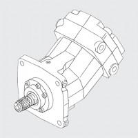 高频振动力的液压马达-KMF90高转速 大扭矩功率输出液压泵