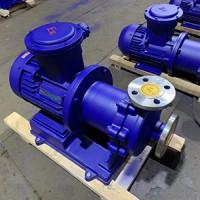 100CQB80-125耐腐蚀磁力泵,无泄漏耐腐蚀泵