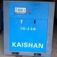 二手螺杆空压机出售15KW22KW37KW螺杆空压机成色较新