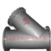 碳钢大口径Y型过滤器  国标Y型过滤器 Y型过滤器厂家