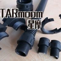 泰安生产PA阻燃双开口波纹管 AD25.8尼龙双壁软管厂家