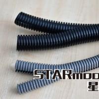 广饶电气用PA阻燃双开口波纹管JED尼龙双壁软管批发规格齐全