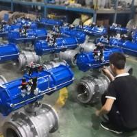 Q647MF蜗炉专用喷煤粉球阀温州