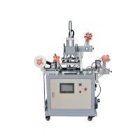连续织带烫金机 PVC膜色卡卷对卷烫金机 标签烫金机
