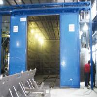 机械回收式喷砂房 定制喷砂房 移动式喷砂房
