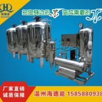 时产10吨全不锈钢全自动带软化器生活循环净化水处理设备润新阀