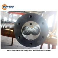weber 88平行双螺杆和机筒用于PVC挤出机