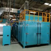 大型电机燃气热风烘箱 烤箱