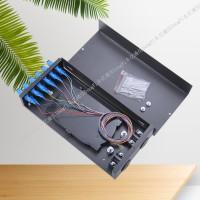 12芯24芯光缆终端盒 桌面式光纤终端盒厂家