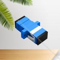 SC光纤法兰盘 方头UPC/APC光纤耦合器厂家 光纤适配器
