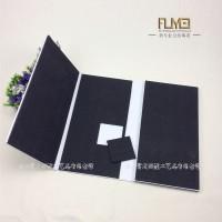 6面泡沫棉粘贴石材样本册 订做橱柜门板实木色卡盒