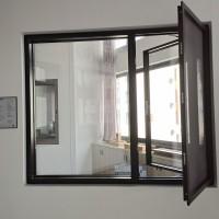 厂家直销 艾尚118美窄边窗 铝合金窄边窗 外立面窗