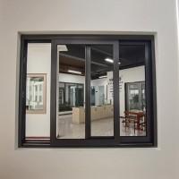 厂家直销 靓宅108内外平框窗纱一体窗 外立面窗 卧室窗