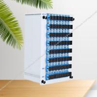 1分64光分路器SC/FC盒式插片式微分PLC分光器
