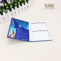 厂家生产高端样册 设计异形画册样品册 钻晶板系列色卡定制