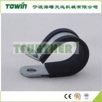 高压橡胶管箍 带橡胶套管箍 涂塑胶条24mm