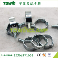 安全气囊专用带螺耳箍 单耳无极卡箍 安全专业高效20.6