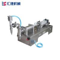 气动消毒液灌装机 果汁饮料灌装机 定量单头液体分装机