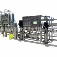 供应海德能新版制药GMP认证二级反渗透纯化水设备加蒸馏水机
