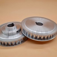厂家定做5M齿轮同步带轮 碳钢橡胶工业皮带齿形铝合金 传动轮