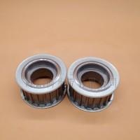 高精度齿轮同步带轮 电机机械工业传动平皮带同步轮配件加工定做