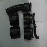 PG29双开口塑料波纹管塑料接头 可拆分塑料管接头