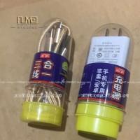 塑料制品定制苹果手机数据线包装盒生产三线合一硬料材质
