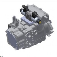液压柱塞泵SH6V130BLDX拆装和泵芯的装配