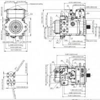 果园农机采摘收获机械全液压驱动控制系统-行走 回转 油缸伸缩